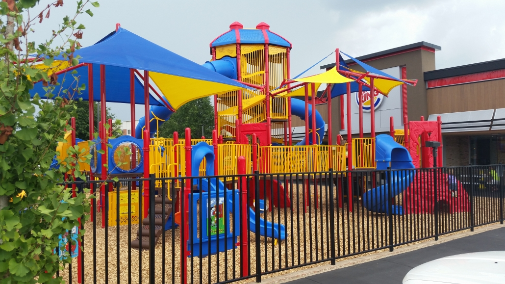 Burger King, playground, commercial playground, little tikes playground, little tikes commercial playground,