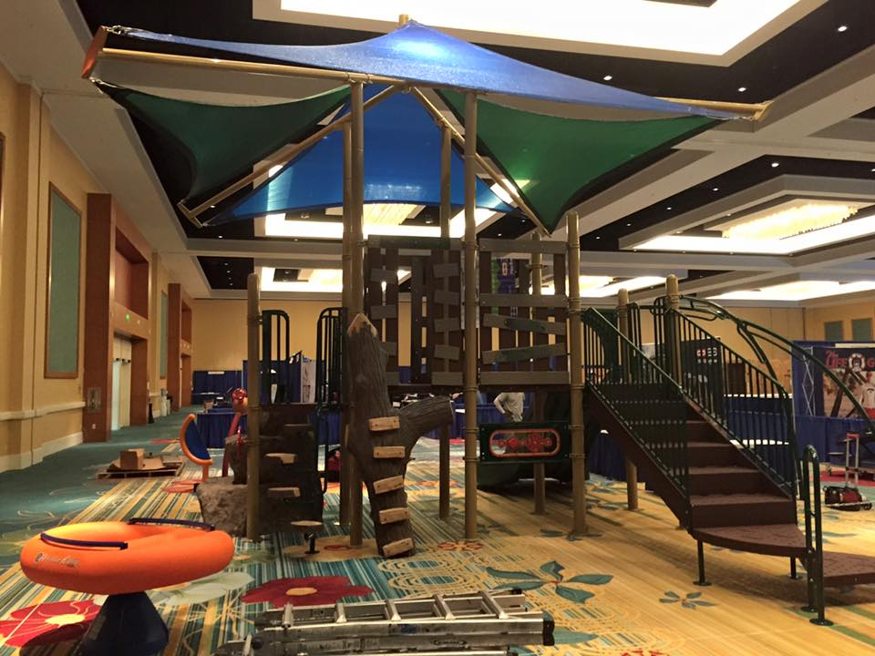 National Recreation and Park Association, playground, commercial playground, tree house playground