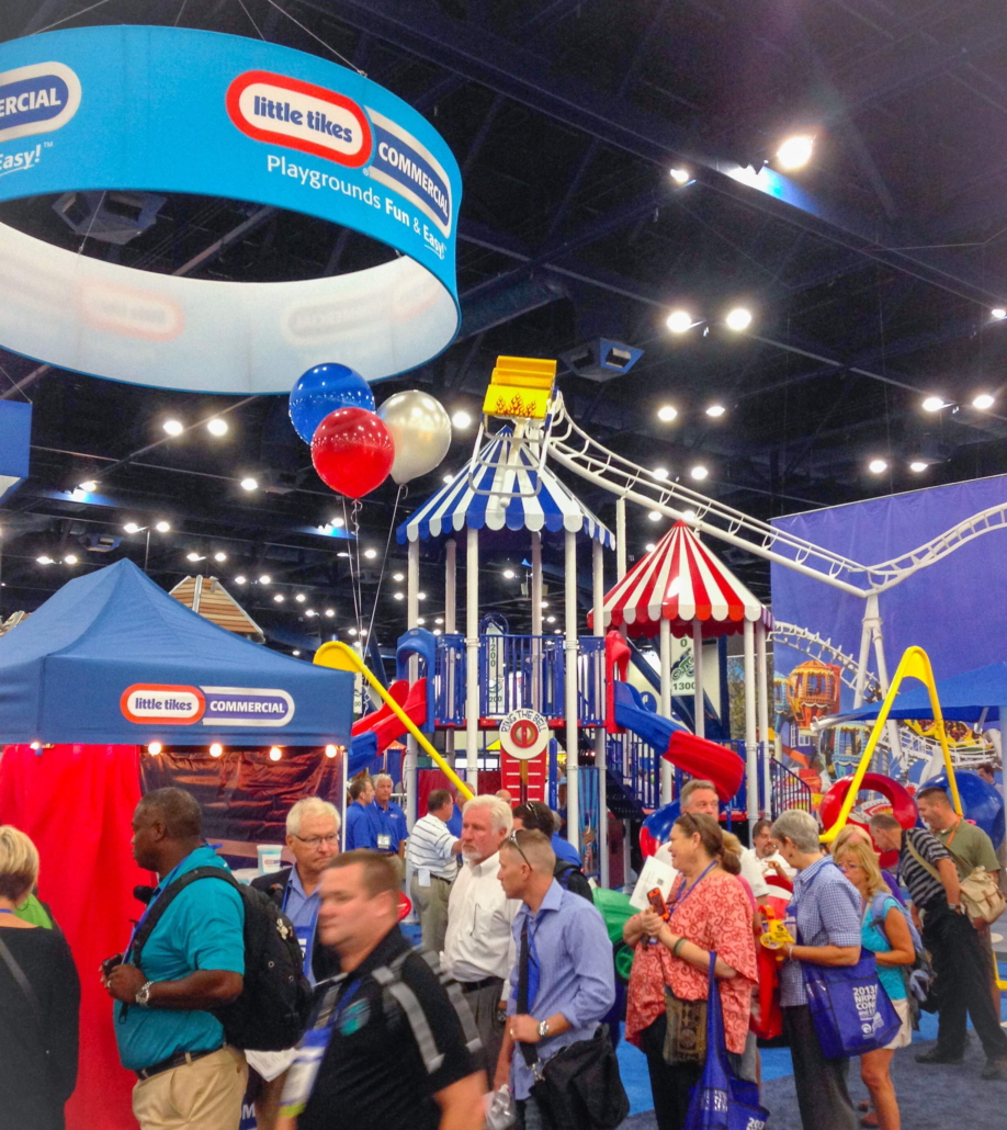National Recreation and Park Association, Playground, commercial playground, little tikes playground