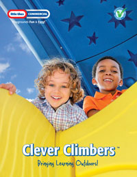 clever climbers, little tikes commercial, commercial playground