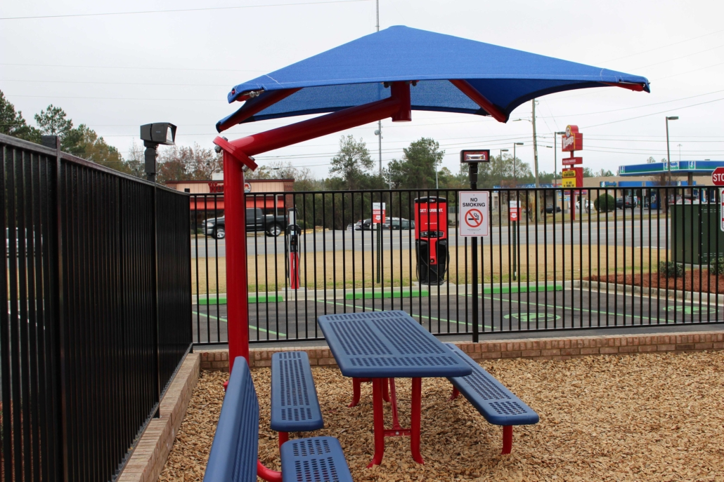 Burger King playground, playground, commercial playground, little tikes playground, little tikes commercial playground, picnic table